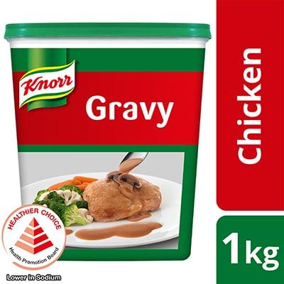 家乐鸡汁混合料1kg - 以家乐鸡汁混合料烹煮的酱汁不仅美味可口,也是一个可百搭各种菜色的黄褐底酱。