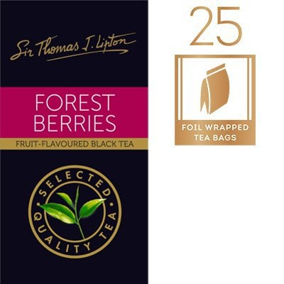 LIPTON Sir Thomas Lipton Forest Berries 25x2g -