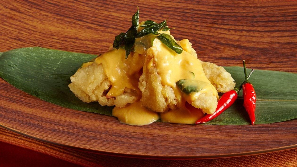 Deep Fried Salted Egg Fish Fillet