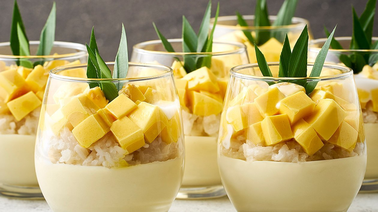 Mango Sticky Rice in Cup
