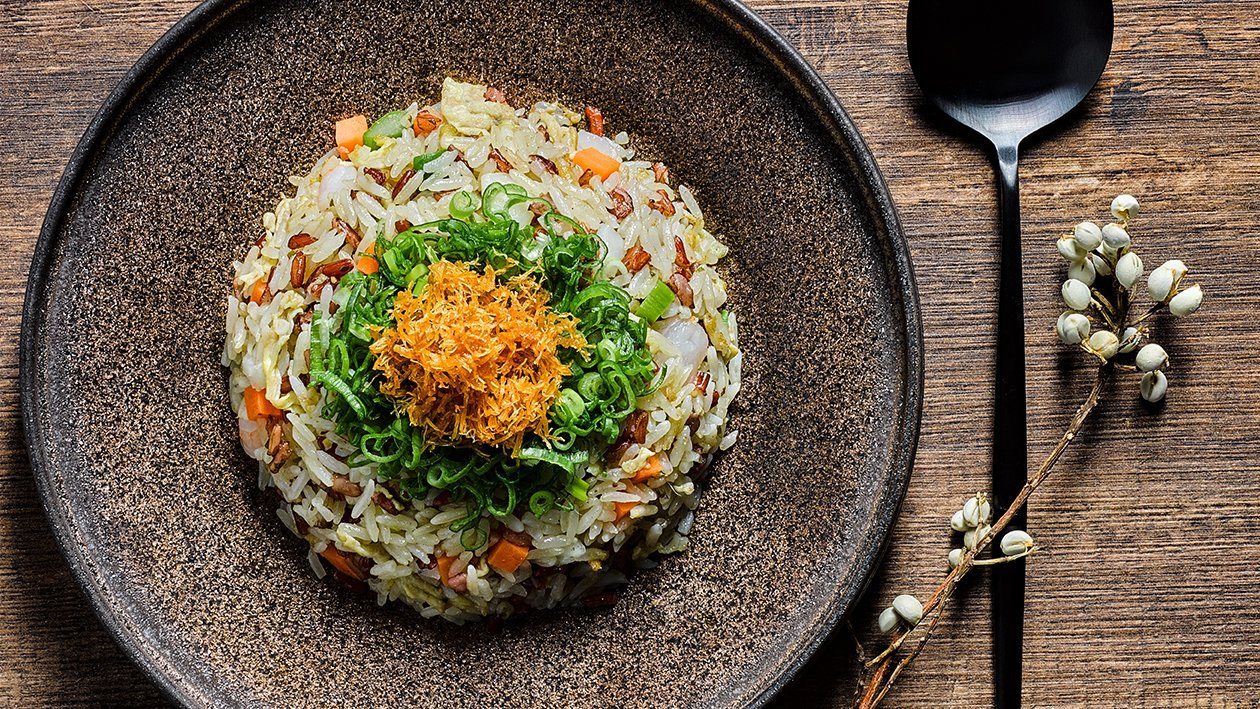Yuan-Yang Pesto Fried Rice