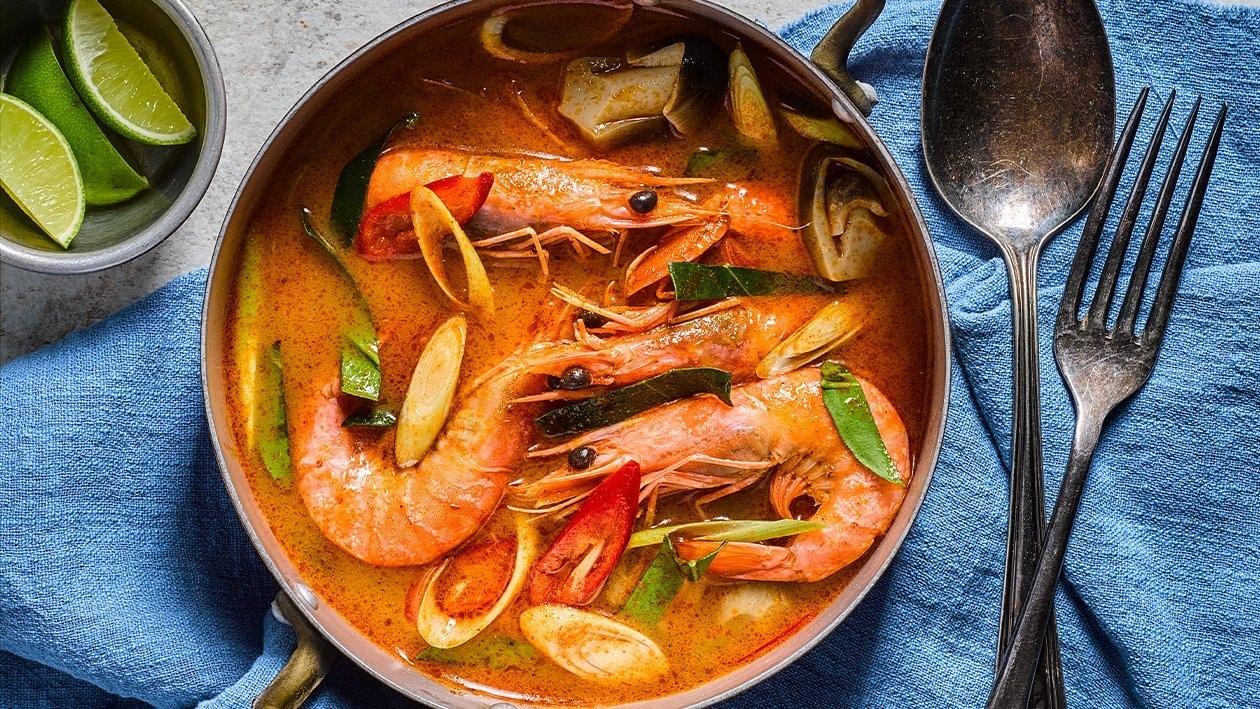 Thai Style Tom Yum Soup