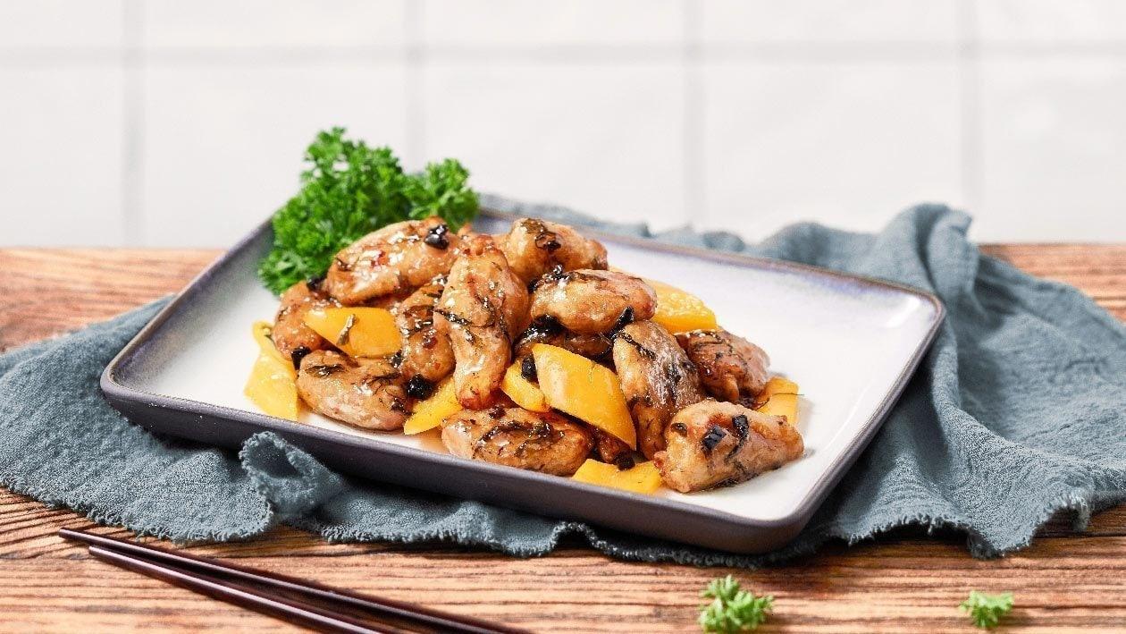 蜜糖榄菜素鸡肉
