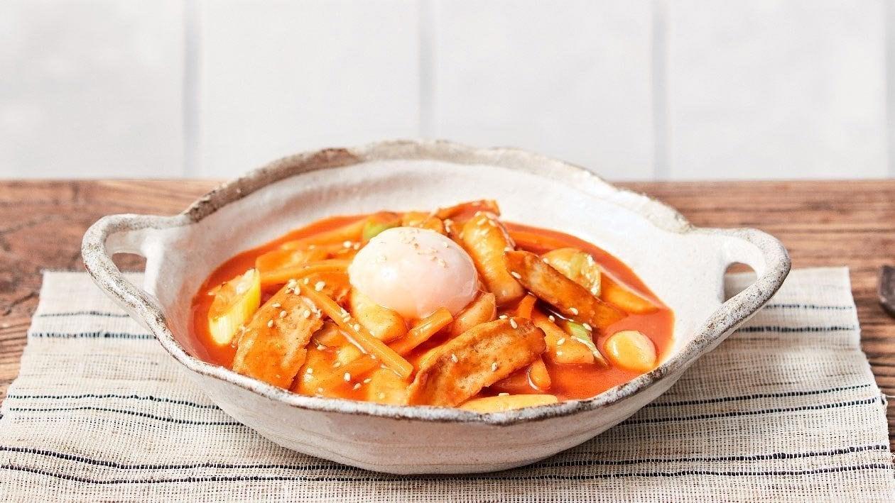 Korean Stir-Fried Rice Cakes