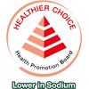 Endorsed by Health Promotion Board as a healthier choice with lower sodium