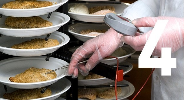 4. Run inspections for consistent, optimal food safety
