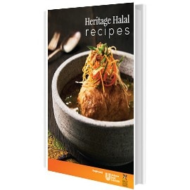 Download our collection of Heritage Halal Recipes for inspiration.