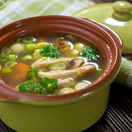 Chicken (breast) soup for the soul